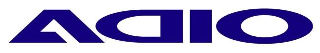 ADIO logo貼紙(中)