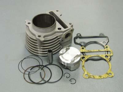 BWS125 Fi 高壓縮 鍛造活塞 61mm 168cc 陶瓷汽缸
