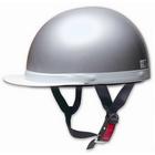 【PALSTAR】Comfort Helmet 白邊緣 Half cap 半罩安全帽 Silver