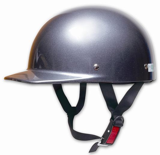 Comfort Helmet Half cap 半罩安全帽 Gun Metallic