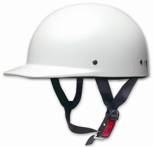 Comfort Helmet Half cap 半罩安全帽 Pearl White