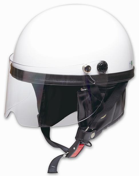 Comfort Helmet Shield Vintage 復古風鏡安全帽 White