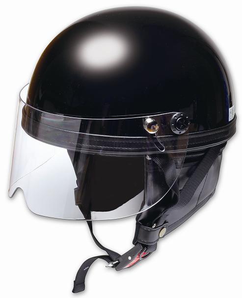 Comfort Helmet Shield Vintage 復古風鏡安全帽 Black