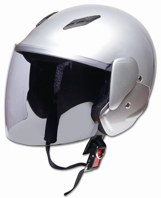 【PALSTAR】Comfort Helmet Family Jet 可掀式安全帽Silver - 「Webike-摩托百貨」