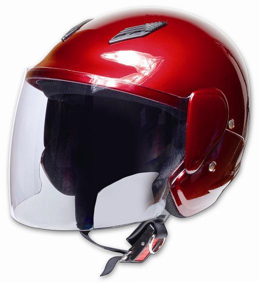 Comfort Helmet Family Jet 可掀式安全帽Candy Red