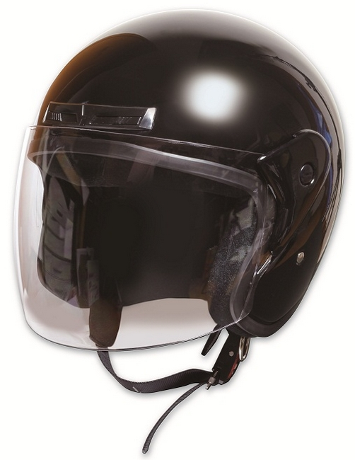 Comfort Helmet Full Face 可掀式安全帽 Black