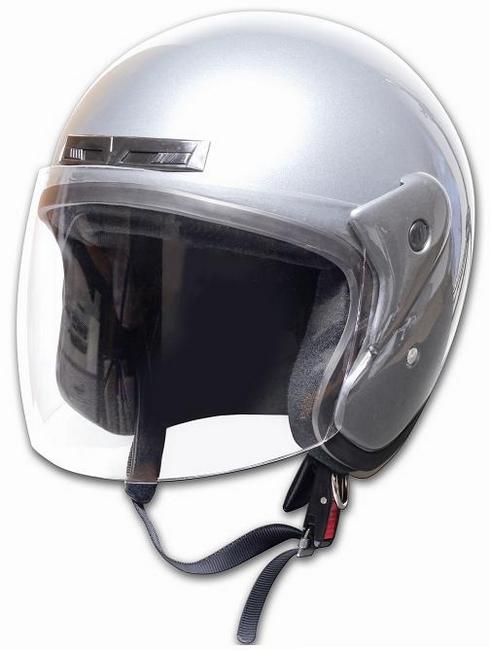 Comfort Helmet Full Face 可掀式安全帽 Silver