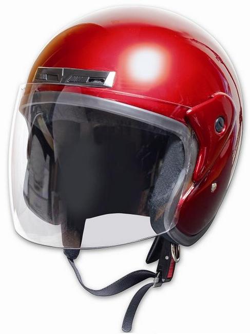 Comfort Helmet Full Face 可掀式安全帽 Candy Red