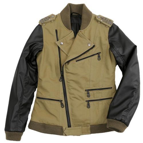 手繪標記Semi-Double 夾克