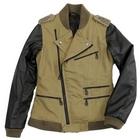 【S.O.A.B】手繪標記Semi-Double 夾克
