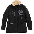 【S.O.A.B】手繪標記軍裝冬季外套