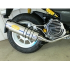 【Arcadia】EVO Racing 不銹鋼全段排氣管 Bazooka Type