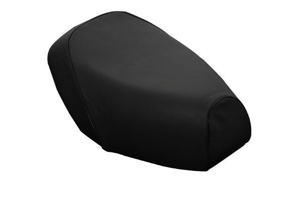 日本製坐墊皮 替換型 【壓花・黑色滾邊】