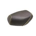 【GRONDEMENT】日本製坐墊皮 替換型 【黑色・黄色滾邊】