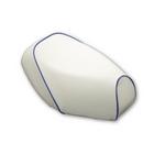 【GRONDEMENT】日本製坐墊皮【白色坐墊皮・藍色滾邊】覆蓋型
