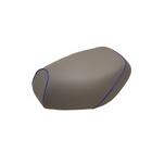 【GRONDEMENT】日本製坐墊皮 覆蓋型 【灰色・藍色滾邊】