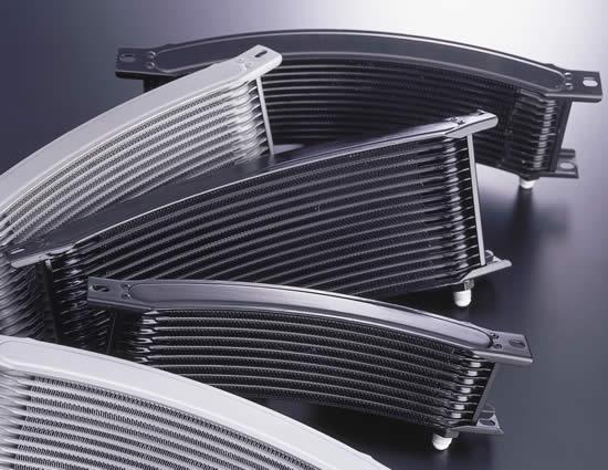環繞式機油冷卻器(油冷排)全組改裝套件 [節溫器型式 、黑色油管]