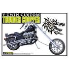 【青島文化教材社】[模型車] Harley-Davidson  Thunder Chopper