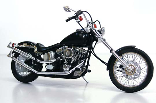 【青島文化教材社】[模型車] Harley-Davidson  Ghost Rider - 「Webike-摩托百貨」