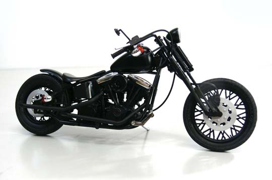 [模型車] Harley-Davidson   Black Widow