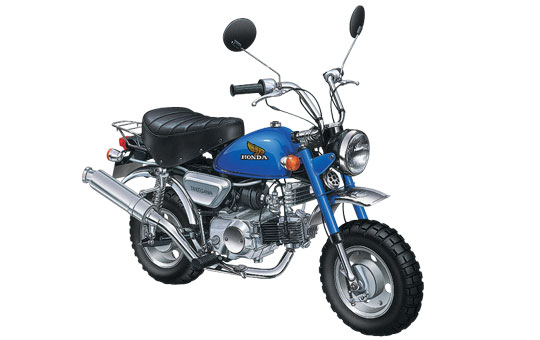 [Naked摩托車塑膠模型] HONDA  MONKEY Custom 武川