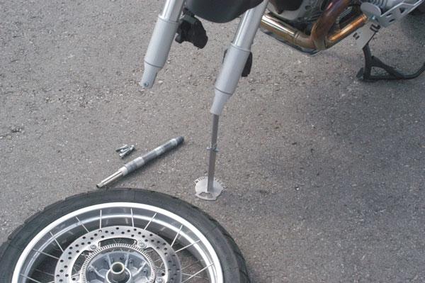 【TOURATECH】携帶型 前輪支架 - 「Webike-摩托百貨」