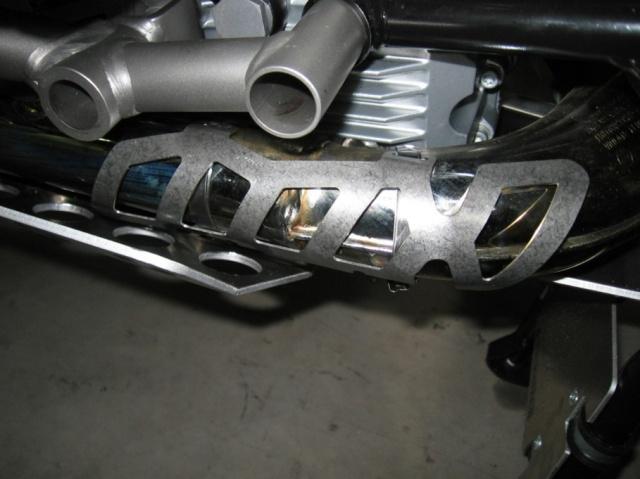 不銹鋼排氣管前段護板