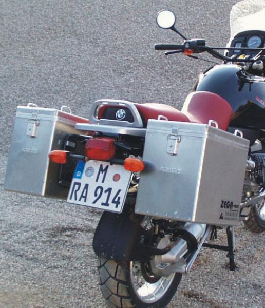 ZEGA鋁合金 馬鞍箱 Pannier System 35+41L