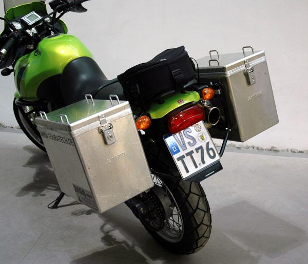 ZEGA鋁合金馬鞍箱 Pannier System