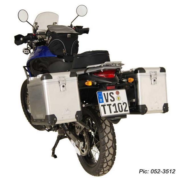 ZEGA-PRO「And-black」鋁合金馬鞍箱Pannier System