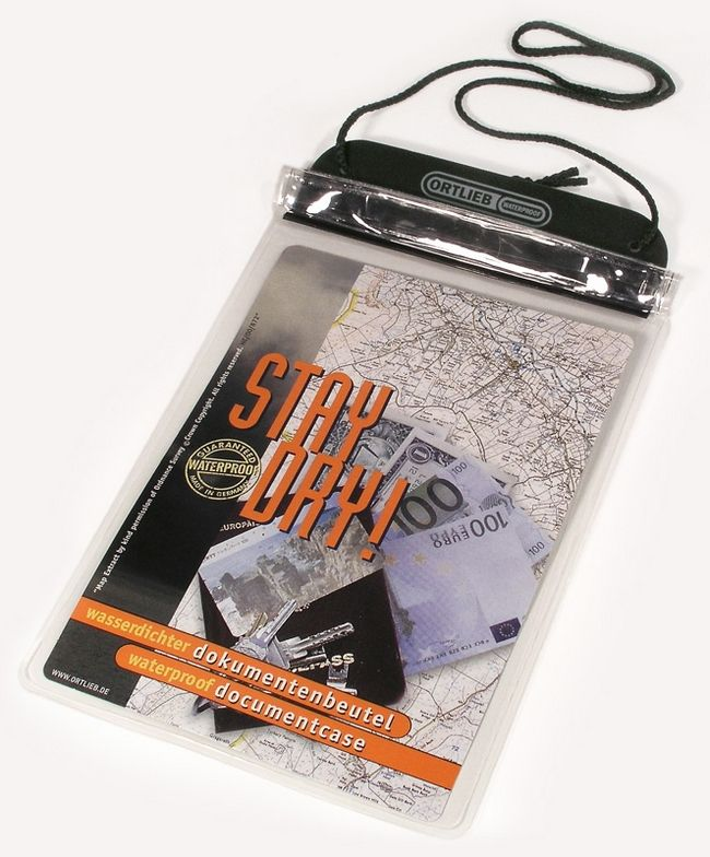 ORTLIEB waterproof document bag、transparent 防潑水文件包