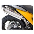 【TOURATECH】BOS GTS rear silencer Stainless steel Honda XL700V Transalp slipon with ABE type approval 排氣管尾段