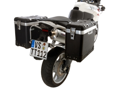 ZEGA-PRO「And-black」Pannier System 馬鞍箱