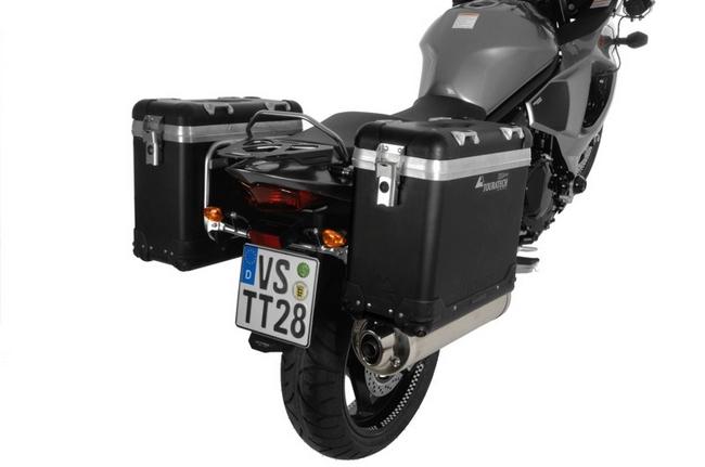 ZEGA-PRO「And-black」Pannier System 馬鞍箱