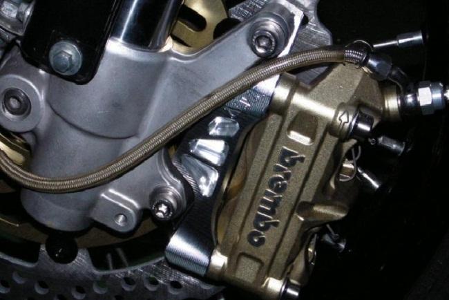 【NA Metal Craft】φ 310Brembo 100mm輻射煞車卡鉗座 - 「Webike-摩托百貨」