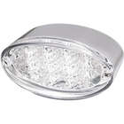 【KUSTOM1】LED 橢圓型尾燈 / 透明 - 「Webike-摩托百貨」