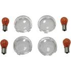 【KUSTOM1】Brett 方向燈燈殼套件 透明