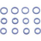 【KUSTOM1】藍色矽膠推桿油封套件