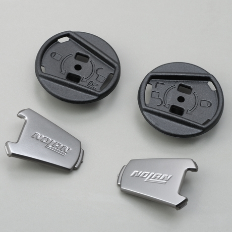 N43E Trilogy用 安全帽鏡片外蓋/Dark Inox
