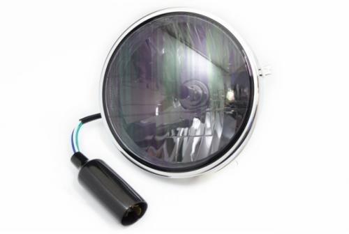 Bates型 晶鑽型輔助燈 燻黑色燈殼
