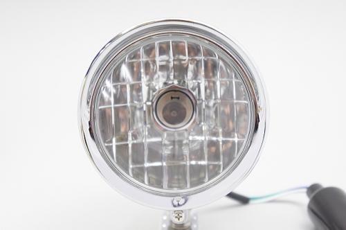 【ai-net】4.5吋  Bates型 晶鑽型輔助燈 (電鍍) - 「Webike-摩托百貨」