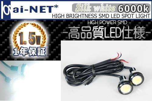 鋁合金切削加工外殼 1.5W LED 魚眼型燈