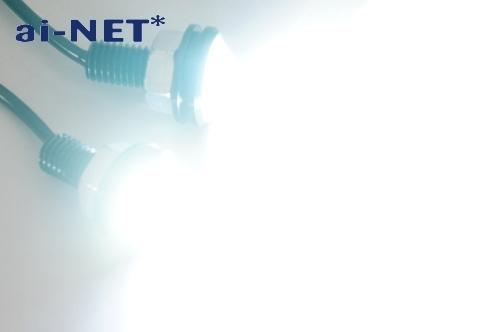 【ai-net】鋁合金切削加工外殼 1.5W LED 魚眼型燈 - 「Webike-摩托百貨」