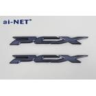 【ai-net】PCX125 aiNET 原廠型亞黑色立體標誌貼紙 (2個一組)