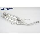 【ai-net】原廠型不銹鋼全段排氣管 (單邊雙出型)