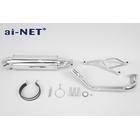 【ai-net】不銹鋼消音器全段排氣管