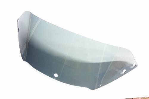 短版燻黑色風鏡 16.5公分 (附邊條)
