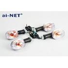 【ai-net】通用型透明方向燈 前後組