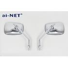 【ai-net】AZ Type 方型後視鏡  (台灣製)