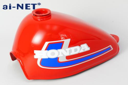 Monkey油箱 紅色 4L 2型 (藍色/銀色)